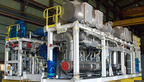 LNG COMPRESSOR PACKAGE